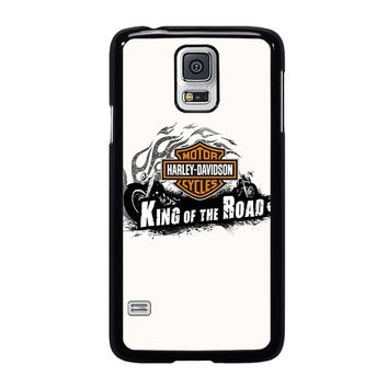 HARLEY DAVIDSON KING OF ROAD Samsung Galaxy S5 Case Cover