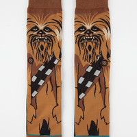 Stance X Star Wars Chewie Mens Socks Brown  In Sizes
