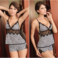 dear lover women leopard sexy lingerie one size (Size: M, Color: Leopard) = 1958021188
