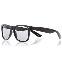 River Island MensBlack retro sunglasses