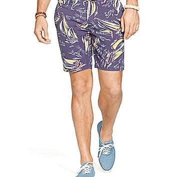 Polo Ralph Lauren Big & Tall Classic-Fit Nautical-Print Canvas Shorts