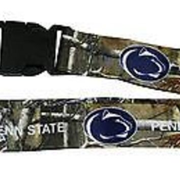Penn State Nittany Lions CAMO REALTREE 2-sided Premium Lanyard University