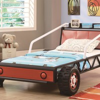 Race Car Beds Twin-Size Youth Race Car Bed by Coaster at Suburban Furniture