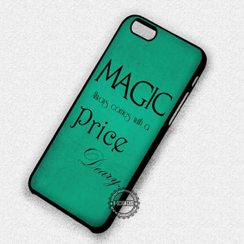 Magic Quotes Once Upon a Time - iPhone 7 6 5 SE Cases & Covers