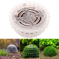 New Dia. 5cm Aquarium Fish Tank Media Moss Ball Filter Decor for DIY Live Plant Fish Aquatic Decorations Ornamen Pet Supplies