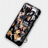 Collage Guy Evan Peters - iPhone 7 6 Plus 5c 5s SE Cases & Covers