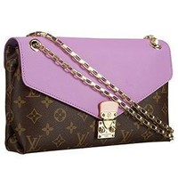Tagre™ Louis Vuitton Pallas Chain Bag Lilas 608250