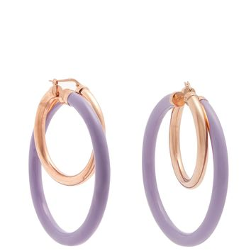 Large double-hoop earrings | Peter Pilotto | MATCHESFASHION.COM UK