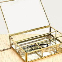 Large Divided Jewellery Box | Urban Outfitters