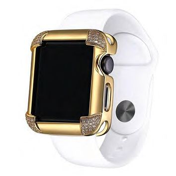 Designer 38mm Corner Iced Out Series 1,2 & 3 Sliding Bezel
