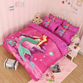 200*230cm 150*200cm Cartoon 3D Printing Bedding Set Duvet Cover Bed Sheet Pillow Case Children Comfort Bedding Sets