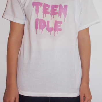 Teen Idle Marina and the Diamonds T-Shirt (Purple, Pink, Black)