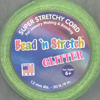 Glitter Bead 'N Stretch Super Stretchy Cord For Jewelry Making at Joann.com
