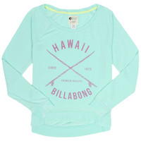 Billabong Women's With Much Aloha Pullover Top