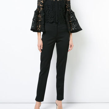 Carolina Herrera Lace Bolero Jacket - Farfetch