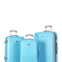 Olympia Luggage Corsair Hardside 3-Piece Luggage Set - Belk.com