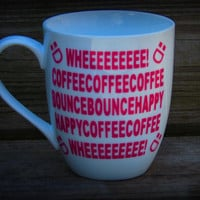Funny coffee mug for coffee lovers, i love coffee coffee makes me hyper, coffee happy