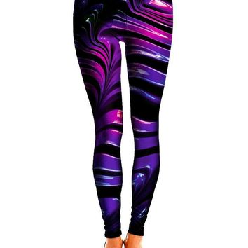 Wavvy Psychedelic Leggings