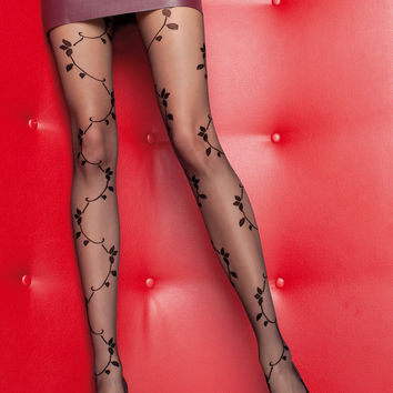 Iness Tattoo Pantyhose