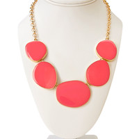 Subtle Glam Lacquered Necklace