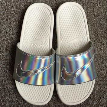 LMFON Nike Simple the Bright Slide Sandals
