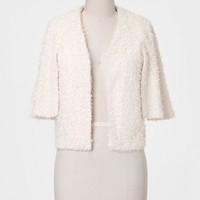 Winter Wonderland Textured Capelet