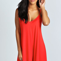 Daisie Jersey Swing Style Playsuit