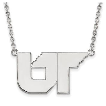 NCAA Sterling Silver U of Tennessee Large Pendant Necklace