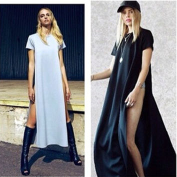 Female New Arrival Sexy Cotton Bandages Women's Fashion Summer One Piece Dress = 5826347329