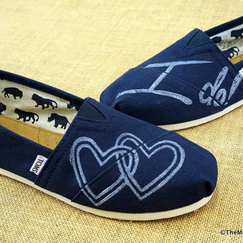 Wedding Custom TOMS Shoes