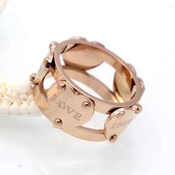 Love Channel Ring