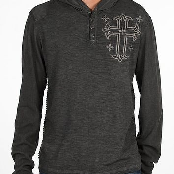 Affliction Render Hooded Henley