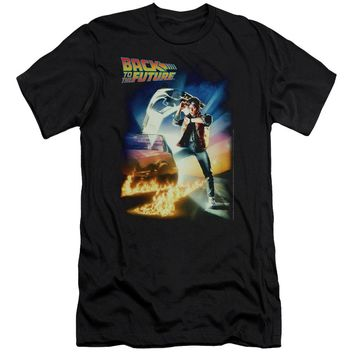 Back To The Future - Poster Short Sleeve Adult 30/1