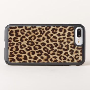 Leopard Print Speck Presidio iPhone 8/7 Plus Case