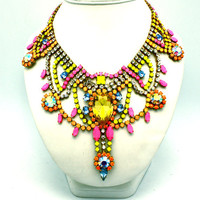 Tokyo-  Statement Necklace (READY TO SHIP)