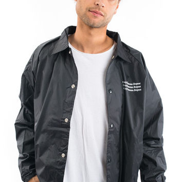 OBEY, Wake Up Coaches Jacket - Black