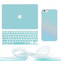 Tiffany Blue MacBook & iPhone Bundle