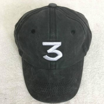 Gray Chance The Rapper 3 Hat