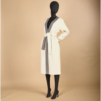 Wool Wrap Coat (Women's)