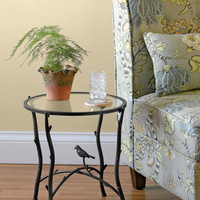 Glass Branch Side Table