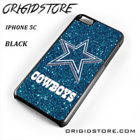 Dallas Cowboys Glitter For Iphone 5C Case UY