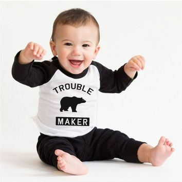 Trouble Maker Infant Tee | CrazyDog TShirts