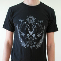 Celestial Alchemy Black T-Shirt
