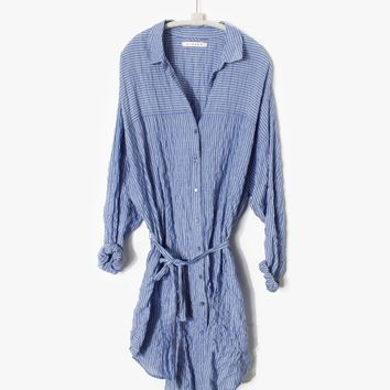Xirena Blue Skies Keira Shirt Dress