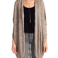 Lush Clothing - Long Speckled Cardigan | 2020AVE