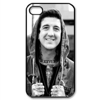 CTSLR Music & Band Series Protective Snap-on Hard Back Case Cover for iPhone 4 & 4S - 1 Pack - Of Mice and Men Band - 12