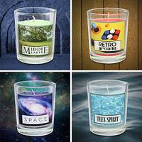 Geeky Scented Candle Set