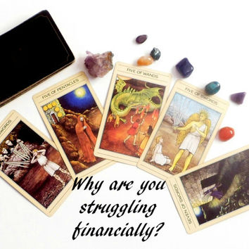 Money tarot reading, finance psychic reading, tarot card reading, intuitive reading, mystic tarot card deck, psychic reading same day