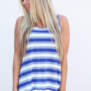 Summer Kind Of Stripe Tank
