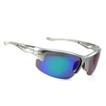 NWT Cool Sport Polarized Sunglasses Wrap Jagger Extreme Retro Smoke Lens